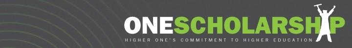 One scholarship logo