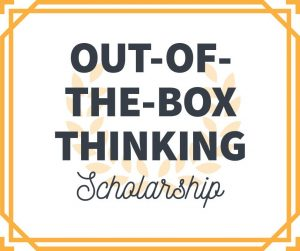 Out-Of-The-Box-Thinking Scholarship