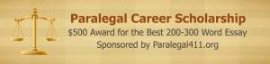 2015 Paralegal Career Scholarship