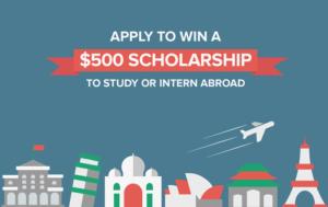 Go Overseas Study or Intern Abroad Scholarship
