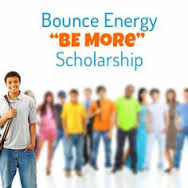 """Bounce Energy """"BE More"""" Scholarship"""