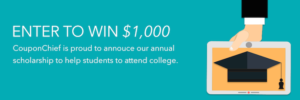 CouponChief.com Scholarship Program