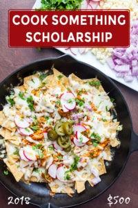Cook Something Scholarship