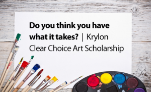 Krylon Clear Choice Art Scholarships
