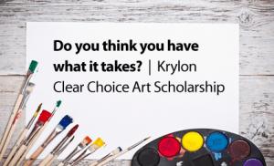 Krylon Clear Choice Art Scholarships