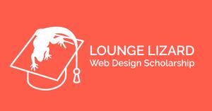 Lounge Lizard Web Design Scholarship